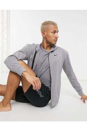 Nike Nike Yoga hyperdry hoodie in grey