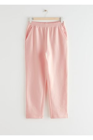 & OTHER STORIES Women Slim - Slim Cotton Trousers