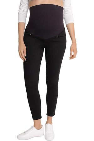 Ingrid & Isabel Maternity Crossover Panel Skinny Jeans in