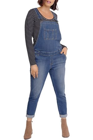 Ingrid & Isabel Maternity Denim Overalls