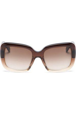 Céline Square Acetate Sunglasses - Womens