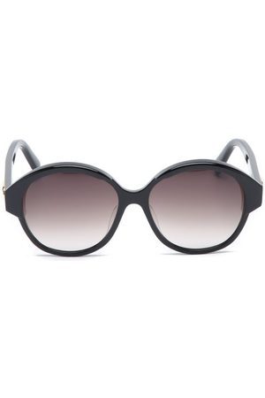Céline Oversized Round Acetate Sunglasses - Womens