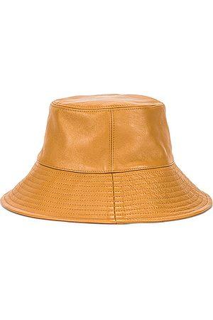 CLYDE Lambskin Ebi Bucket Hat in Neutral