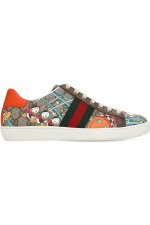 Gucci 15mm Disney X Canvas Ace Sneakers