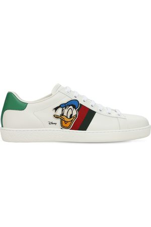 Gucci Women Sneakers - 10mm X Disney Ace Leather Sneakers