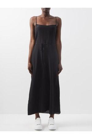 Raey Tie-waist Silk Crepe De Chine Slip Dress - Womens