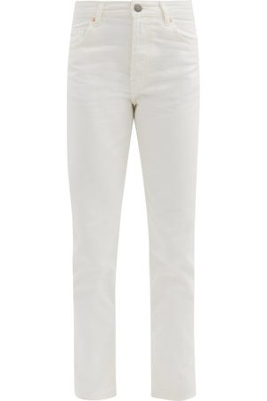 Raey Track High-rise Straight-leg Jeans - Womens