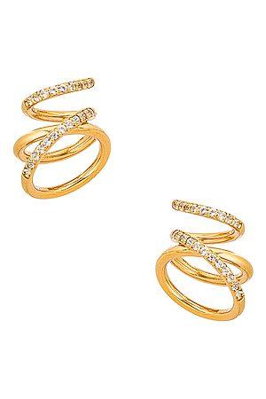 COMPLETEDWORKS Women Earrings - Flow Earrings in Metallic