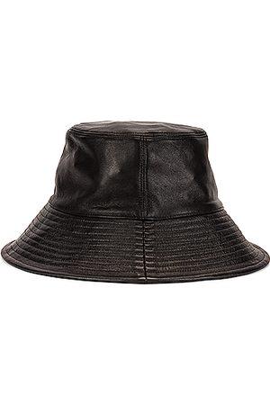 CLYDE Lambskin Ebi Bucket Hat in