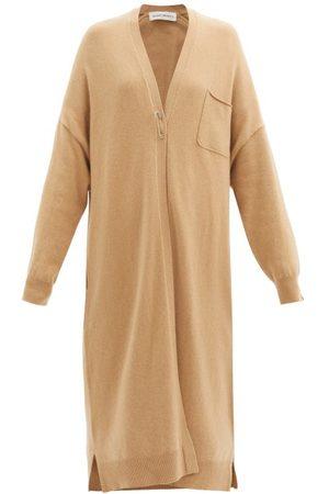 EXTREME CASHMERE No. 61 Koto Stretch-cashmere Cardigan - Womens - Camel