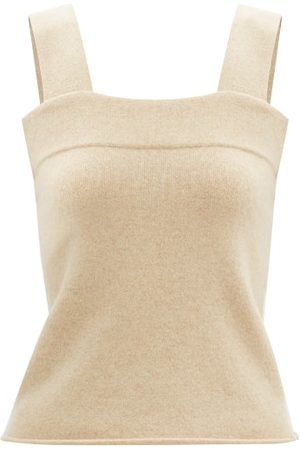EXTREME CASHMERE Women Tops - No. 127 Cara Stretch-cashmere Top - Womens - Light