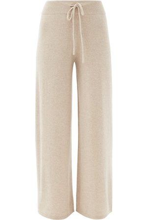Lisa Yang Women Straight Leg Pants - Sofi High-rise Cashmere Straight-leg Trousers - Womens