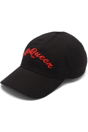 Alexander McQueen Men Caps - Logo-embroidered Baseball Cap - Mens - Multi