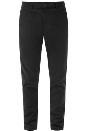 RAG&BONE Cotton-blend Slim-fit Chino Trousers - Mens - Navy