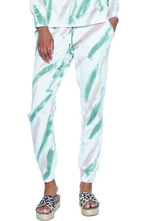 WASH LAB Women's Surface Stripe Joggers