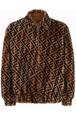 Fendi Jacket In Shearling