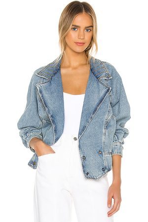 Retrofete Ellie Denim Jacket in Denim-Light.