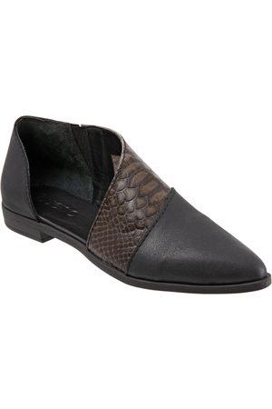 Bueno Women Flat Shoes - Women's Blake Half D'Orsay Flat