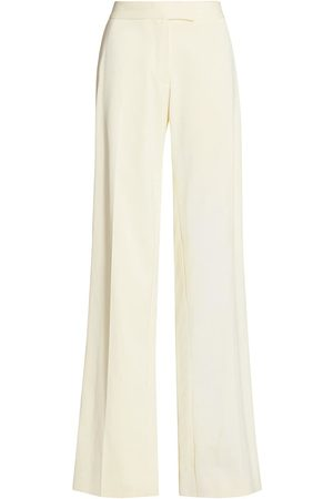 Marina Moscone Women's Relaxed Straight-Leg Trousers - - Size 10