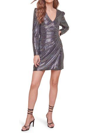 ASTR the Label Women's Paris Sequin Long Sleeve Minidress