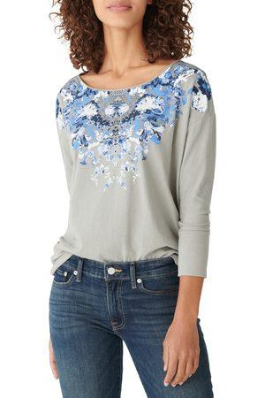 Lucky Brand Women's Drop Shoulder Easy Fit T-Shirt