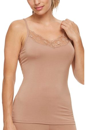 Montelle Intimates Women's Lace Trim Camisole