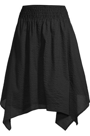Le Swim Women's Tortola Seersucker Skirt - - Size Medium