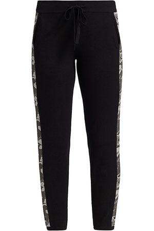 MONROW Women's Camo Stripe Sweatpants - - Size XS