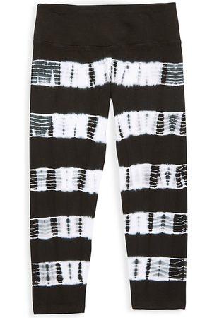 Hard Tail Girl's Striped Capri Pants - - Size XL (16)