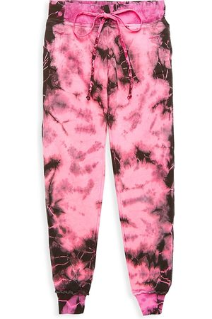 Hard Tail Girl's Tie-Dye Joggers - - Size Small (7-8)