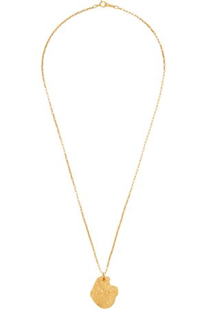 Alighieri St Christopher IV 24kt -plated necklace