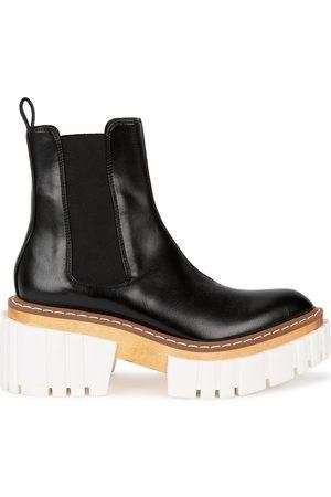 Stella McCartney Emilie 75 leather platform Chelsea boots