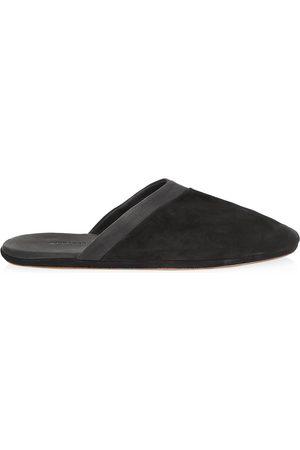 JOHN LOBB Men's Suede Slippers - - Size 9
