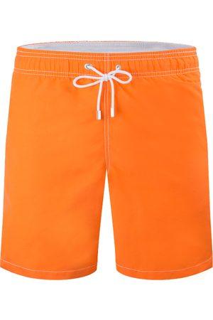 Bugatchi Men's Solid Swim Trunks