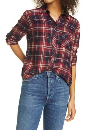 Rails Women's Hunter Plaid Long Sleeve Flannel Shirt