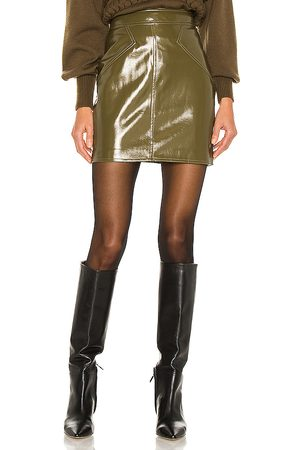 RONNY KOBO Rina Skirt in Green.