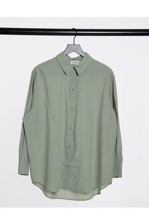 Weekday Edyn shirt in light khaki
