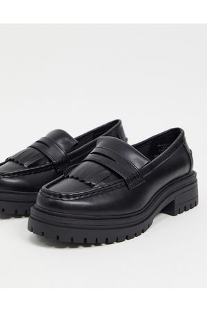 ASOS Melon chunky loafers in