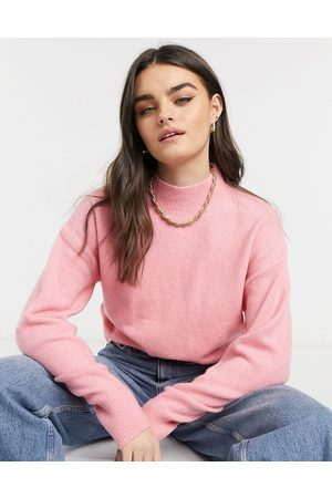 & OTHER STORIES & mock neck sweater in hot
