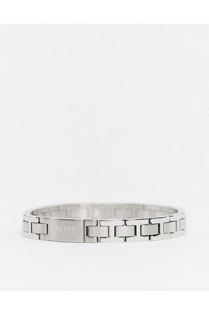 HUGO BOSS Hugo metal link bracelet in