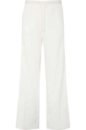 VALENTINO Cotton Gabardine Loose Pants