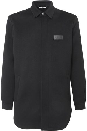 VALENTINO Vltn Wool & Cashmere Caban Jacket