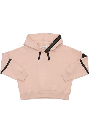 Moncler Girls Hoodies - Cotton Sweatshirt Hoodie