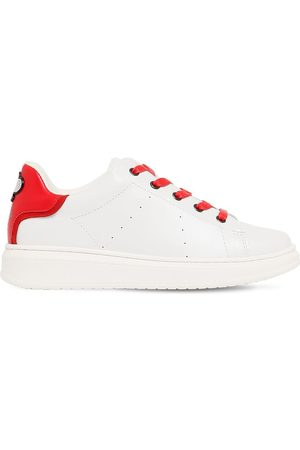 Marc Jacobs Leather Lace-up Sneakers