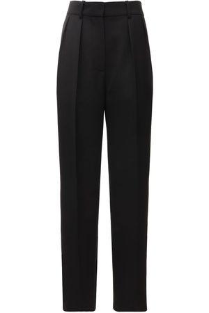 Victoria Beckham Women Pants - High Waisted Tech & Wool Pants