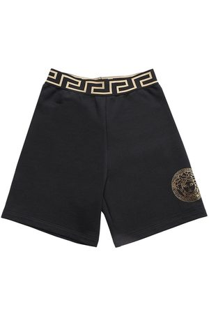 VERSACE Boys Shorts - Cotton Sweat Shorts