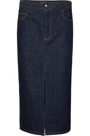 Chloé Denim pencil skirt