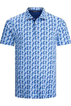 Bugatchi Men's Geometric Polo Shirt