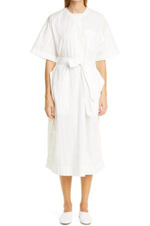 CO Women's Belted Shirtdress