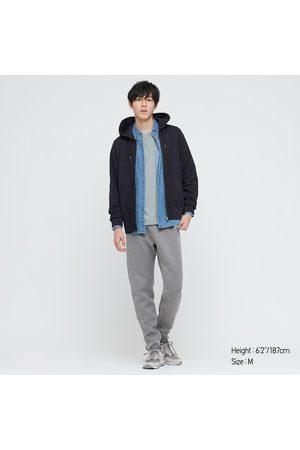 UNIQLO Men's Sweat Long-Sleeve Full-Zip Hoodie, , XS